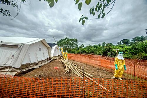 ebola control camp